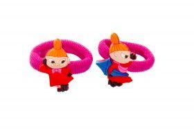 Pikku Myy hiuslenkit - Moomin by Cailap elastic bands #Moomin #elasticband #hairtie #ponyo