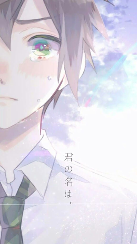 Pin By Euphelity On Your Name Manga Anime Anime Japonais
