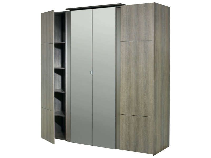 armoire 4 portes conforama dalmateysspot. Black Bedroom Furniture Sets. Home Design Ideas