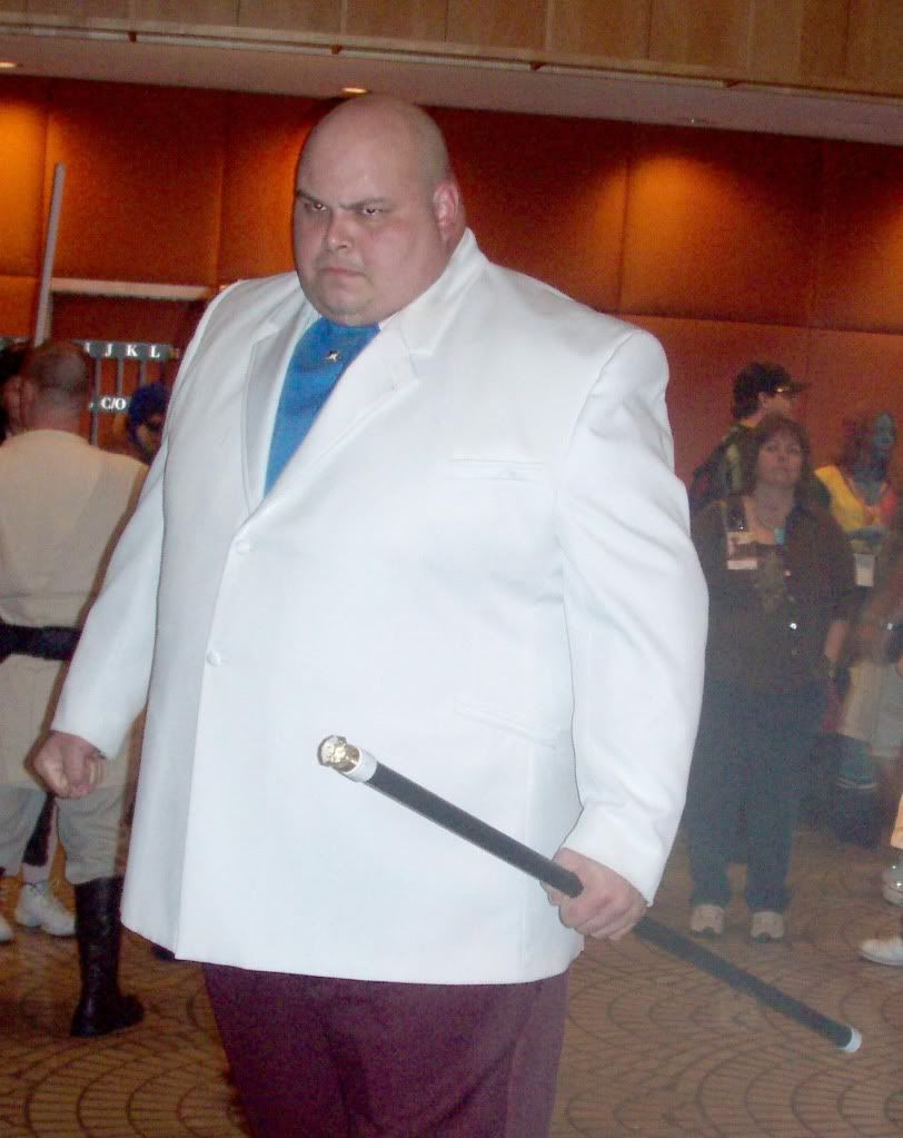 when you look like this then kingpin is really the only obvious