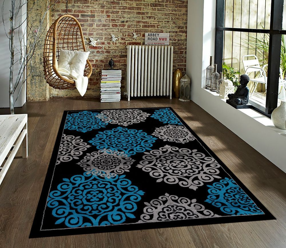 Details About Rugs Area Rugs Carpets Floor Modern Big Cool Large
