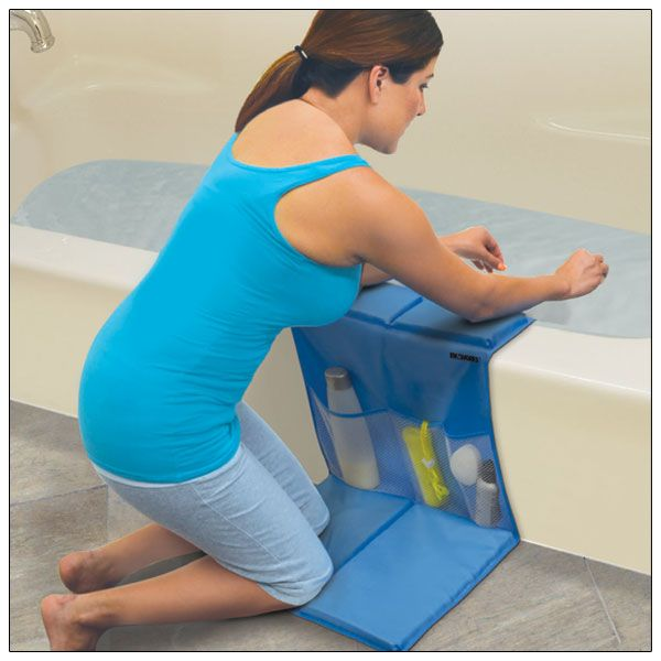 Delicieux Bathtub Caddy With Kneeling Pad   Elbow Rests   Pockets   Bathroom  Accessories   MaxiAids