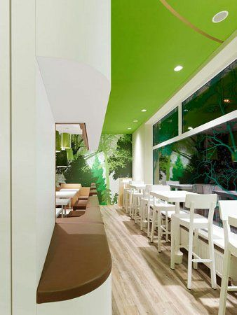 Decoration interieure fast food wienerwald concept design espace ippolito fleitz 05