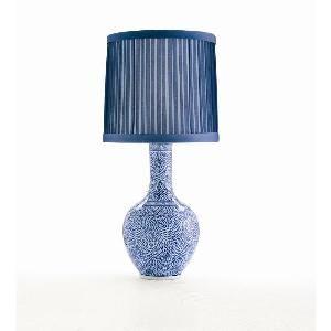 Picture of Batik Blue & White Porcelain Lamp-FREE SHIPPING!
