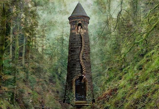 La torre de Rapunsel