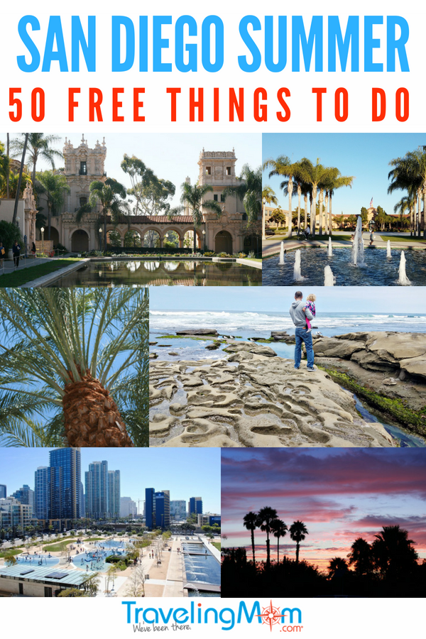50 free things to do in san diego