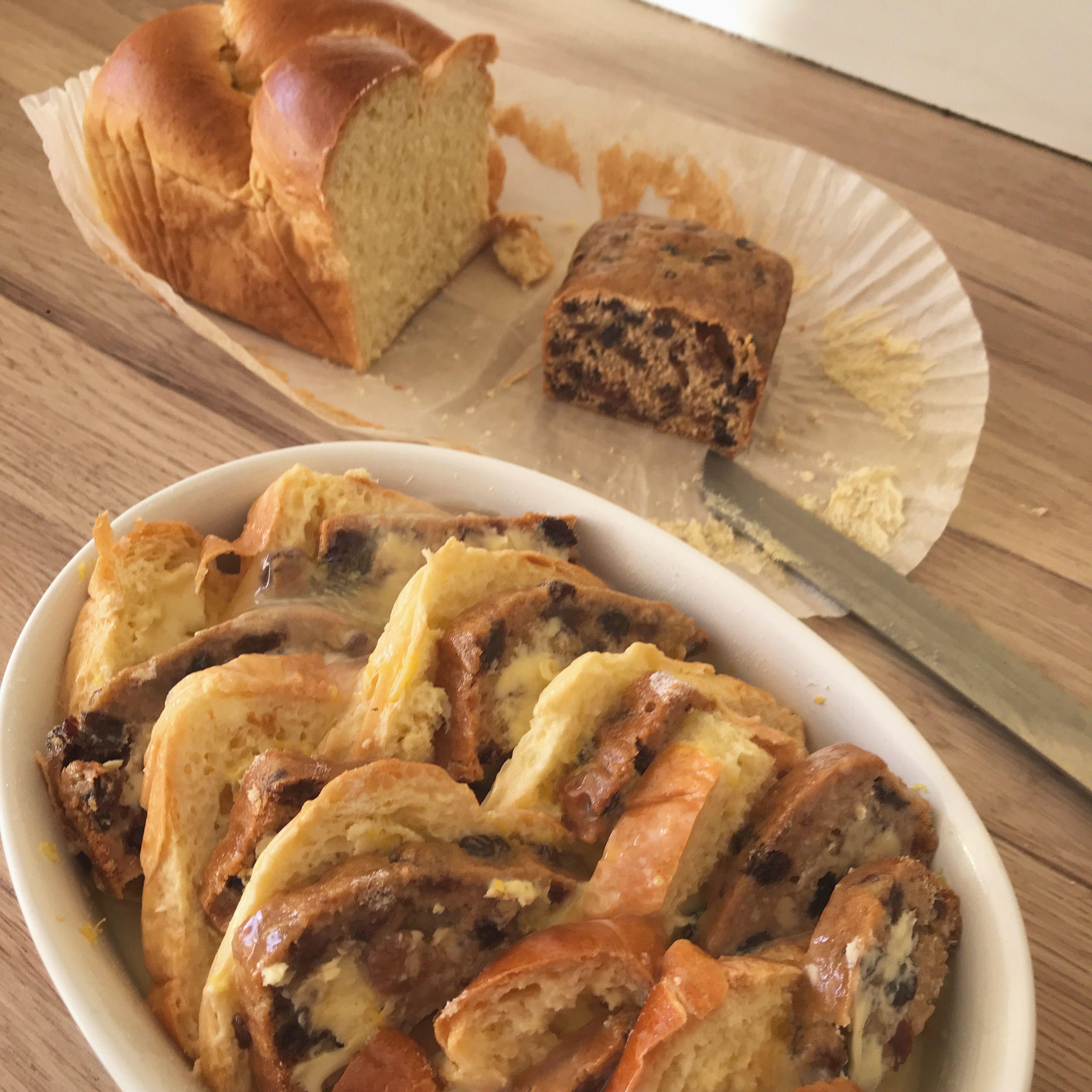 Bara Brith and brioche, bread & butter pudding - this was delicious