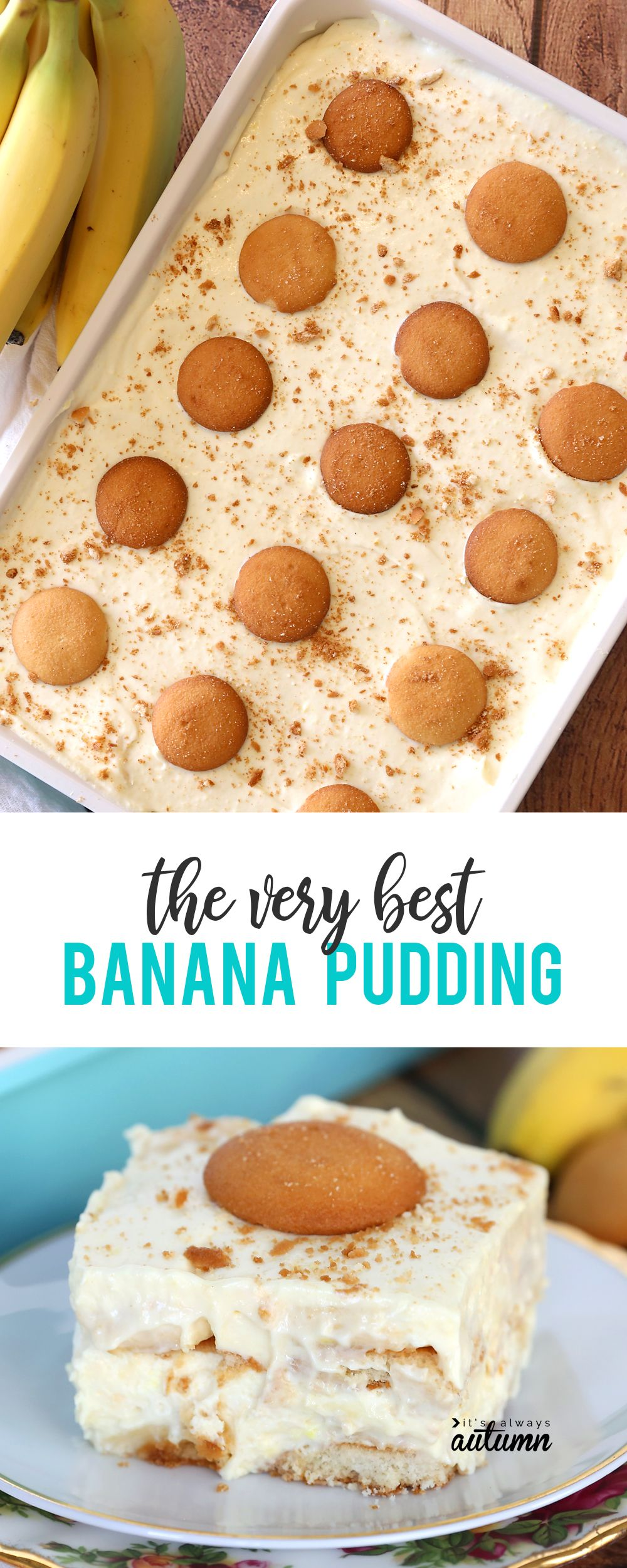 Best Easy Banana Pudding Recipe With Vanilla Wafers How To Make Recipe Easy Banana Pudding Recipe Banana Dessert Recipes Easy Banana Pudding