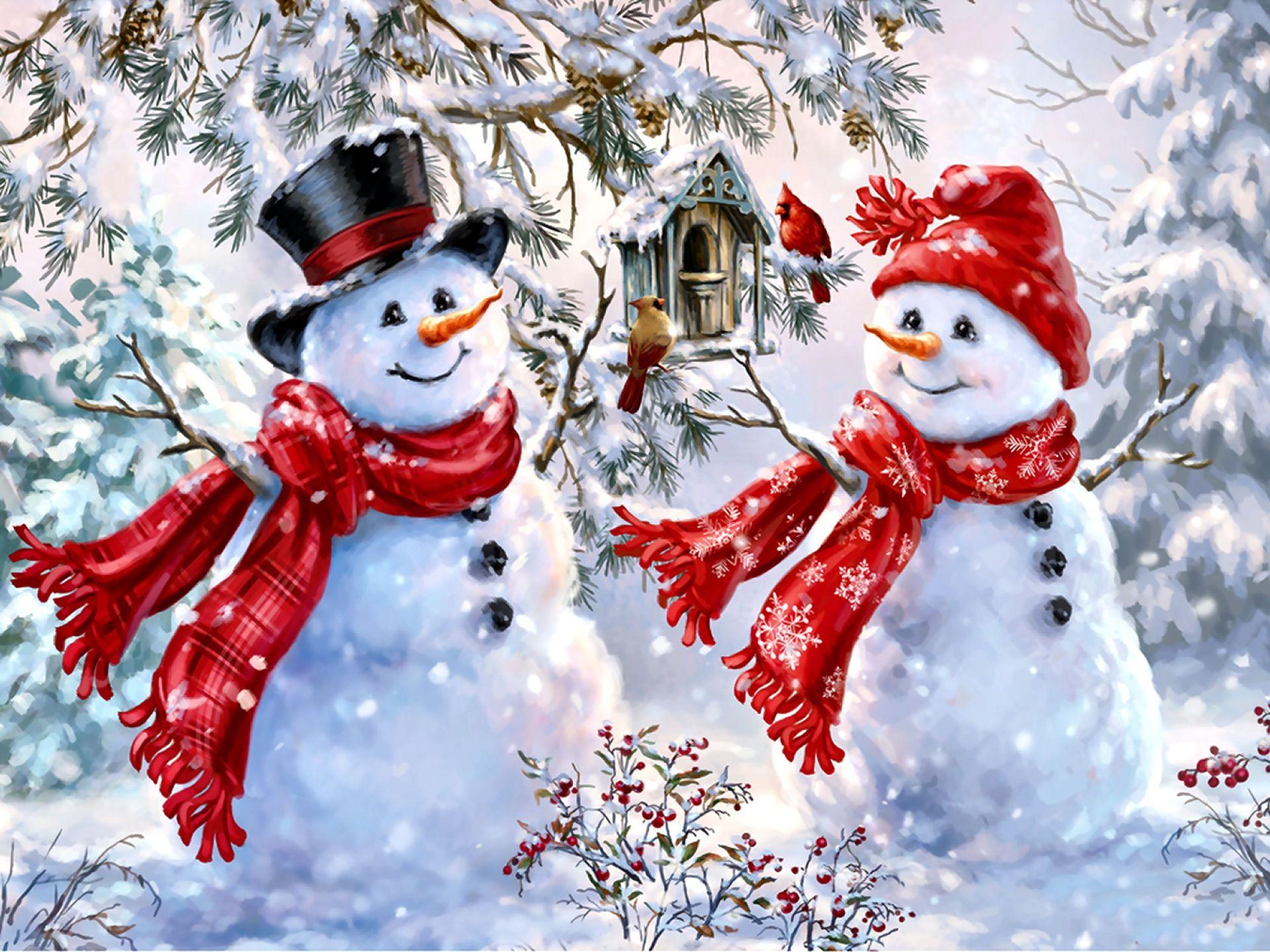 10 Christmas paintings 10 karácsonyi festmény Megaport