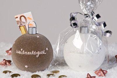 Spardose WEIHNACHTSGELD braun rose Geldgeschenk Weihnachten Winter Geschenk Geld