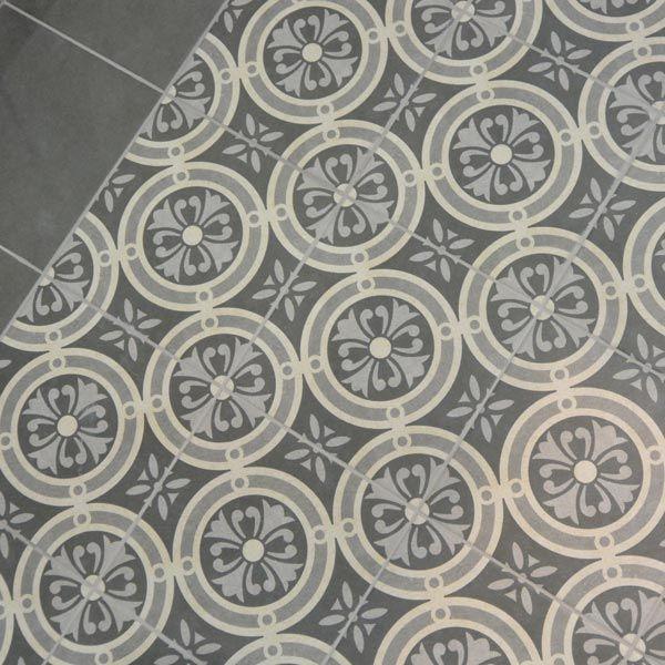 Decorative Tiles Uk Fair 25X25Cm Vintage Grey Classic Floor Tile  Project Lsr Tile Decorating Design