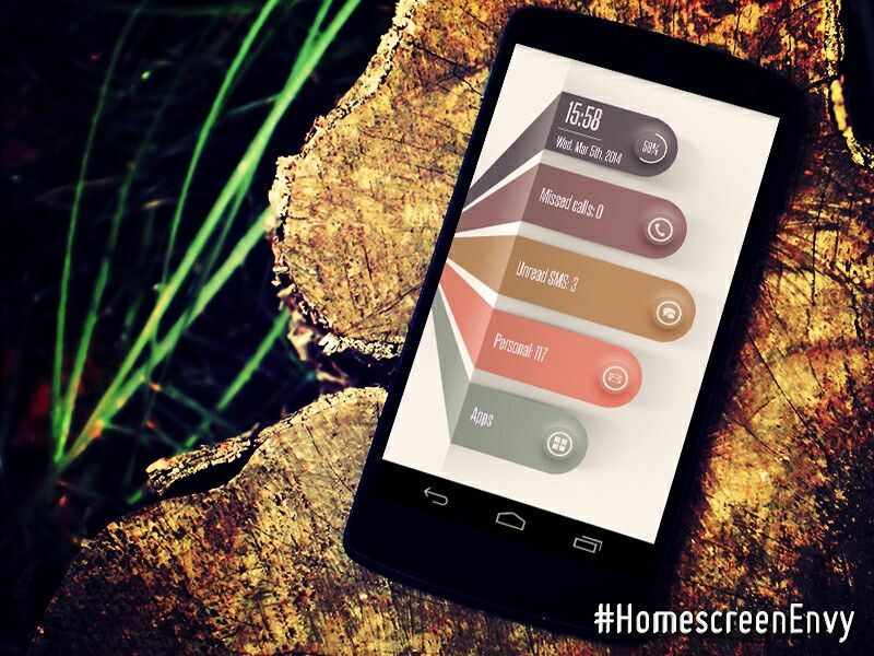 Awesome theme Custom icons, Homescreen, Iphone