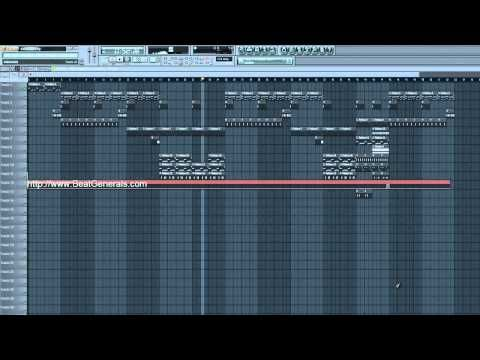 How To Make FL Studio Beats - DJ Mustard Tutorial, FLP