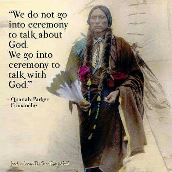 Communion with the Great Spirit