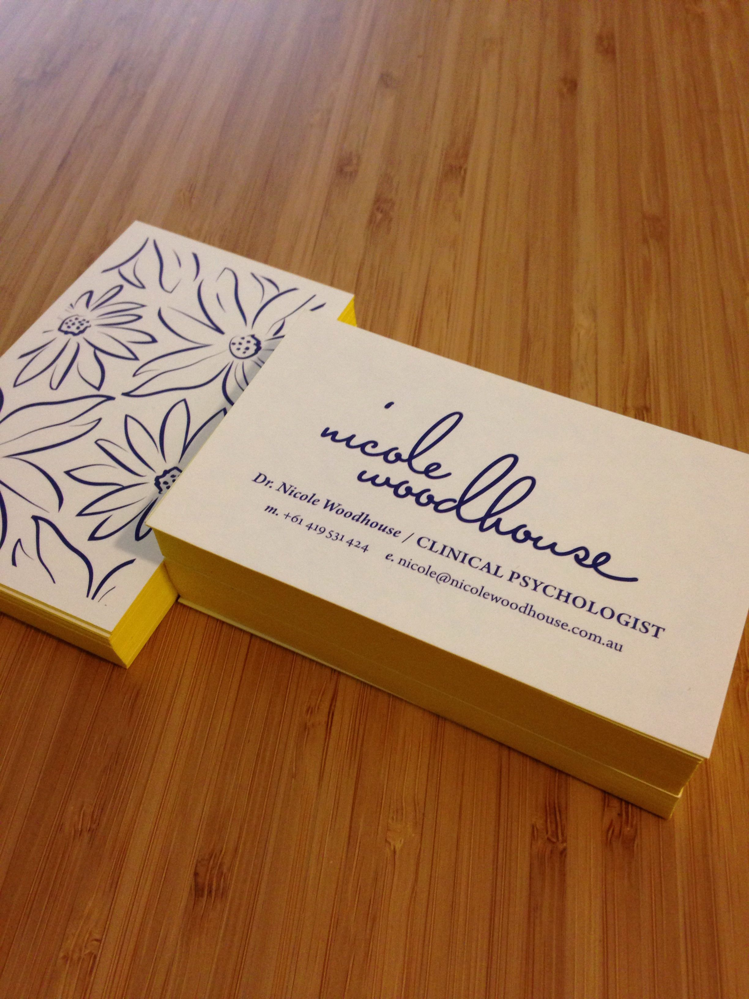 business cards for melbourne clinical psychologist the australian