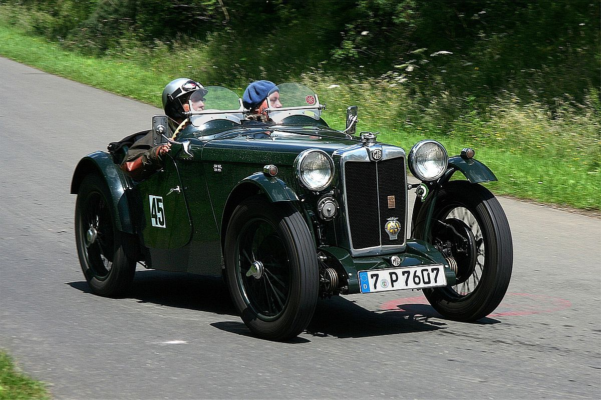 MG PA open twoseater sports car (1934) Carros, Carros