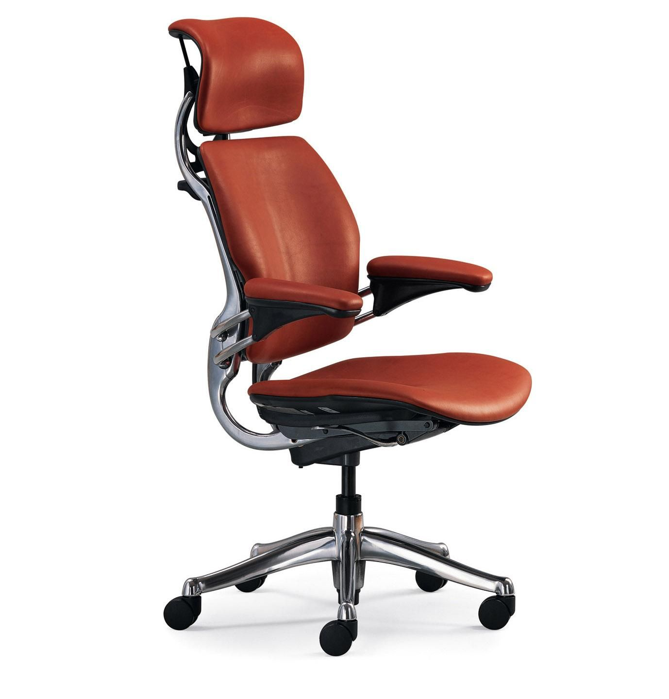 The Humanscale Freedom Chair With Headrest Is Designed To Give The Maximum Ergonomic Benefit Most Comfortable Office Chair Home Office Chairs Best Office Chair