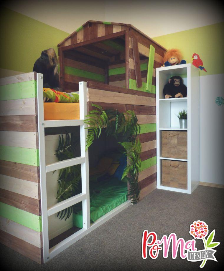 Kinderbett dschungel  Aus Bauernhof wird Dschungel | Kinderzimmer, Dschungel und ...