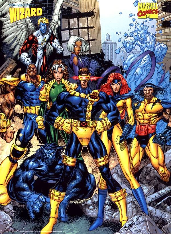 X Men Poster Search Home Comic Art Community Gallery Of Comic Art Marvel Comics Comic Art Comics