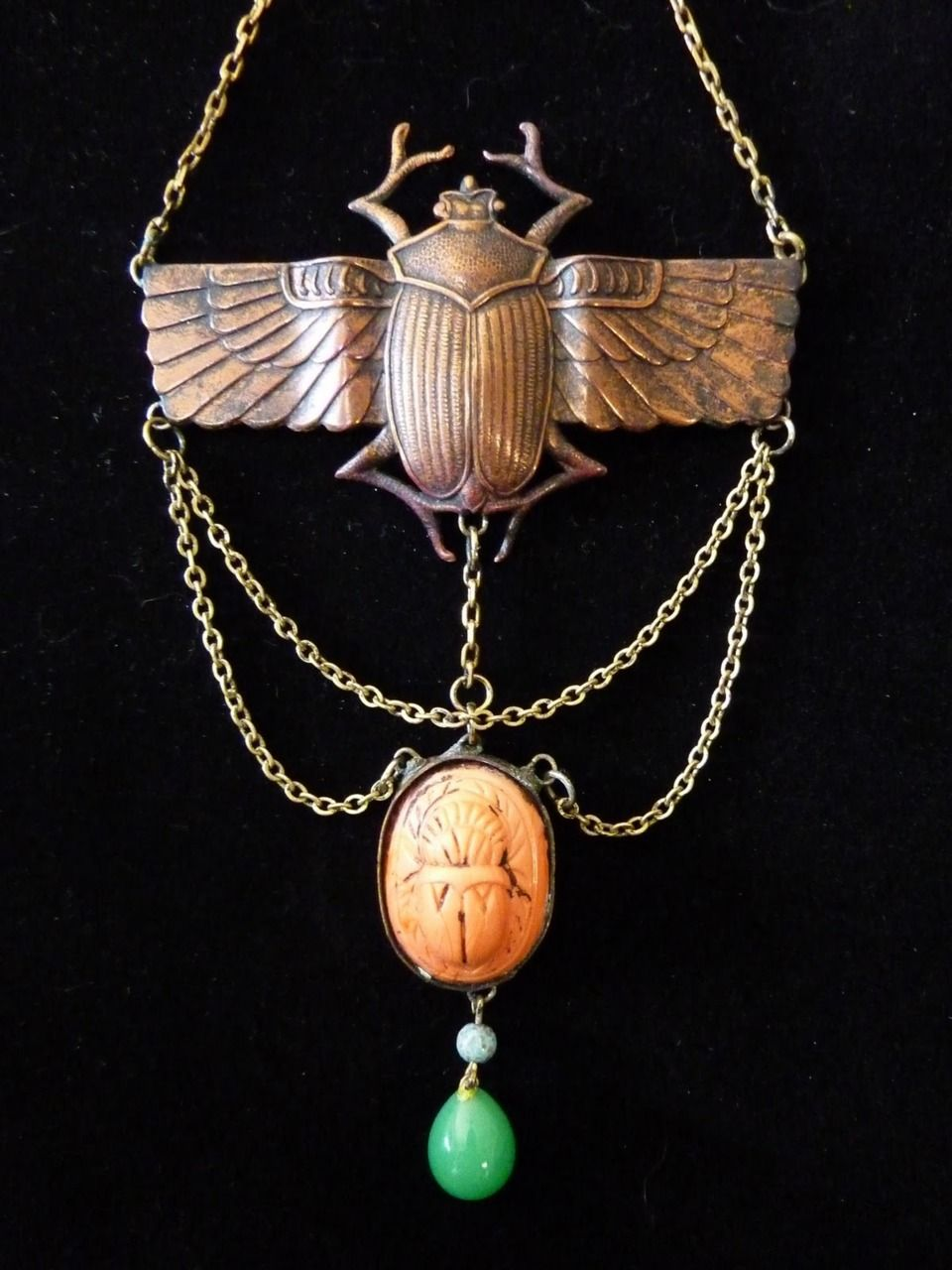 Egyptian Revival necklace