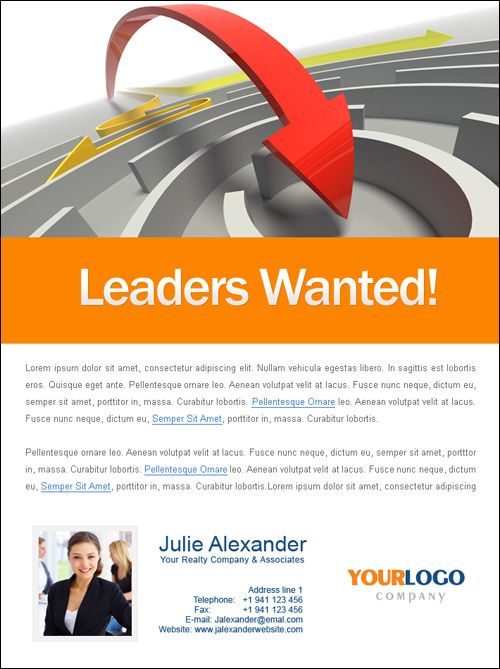 Real Estate Email Flyers  Recruiting Templates  Recruiting