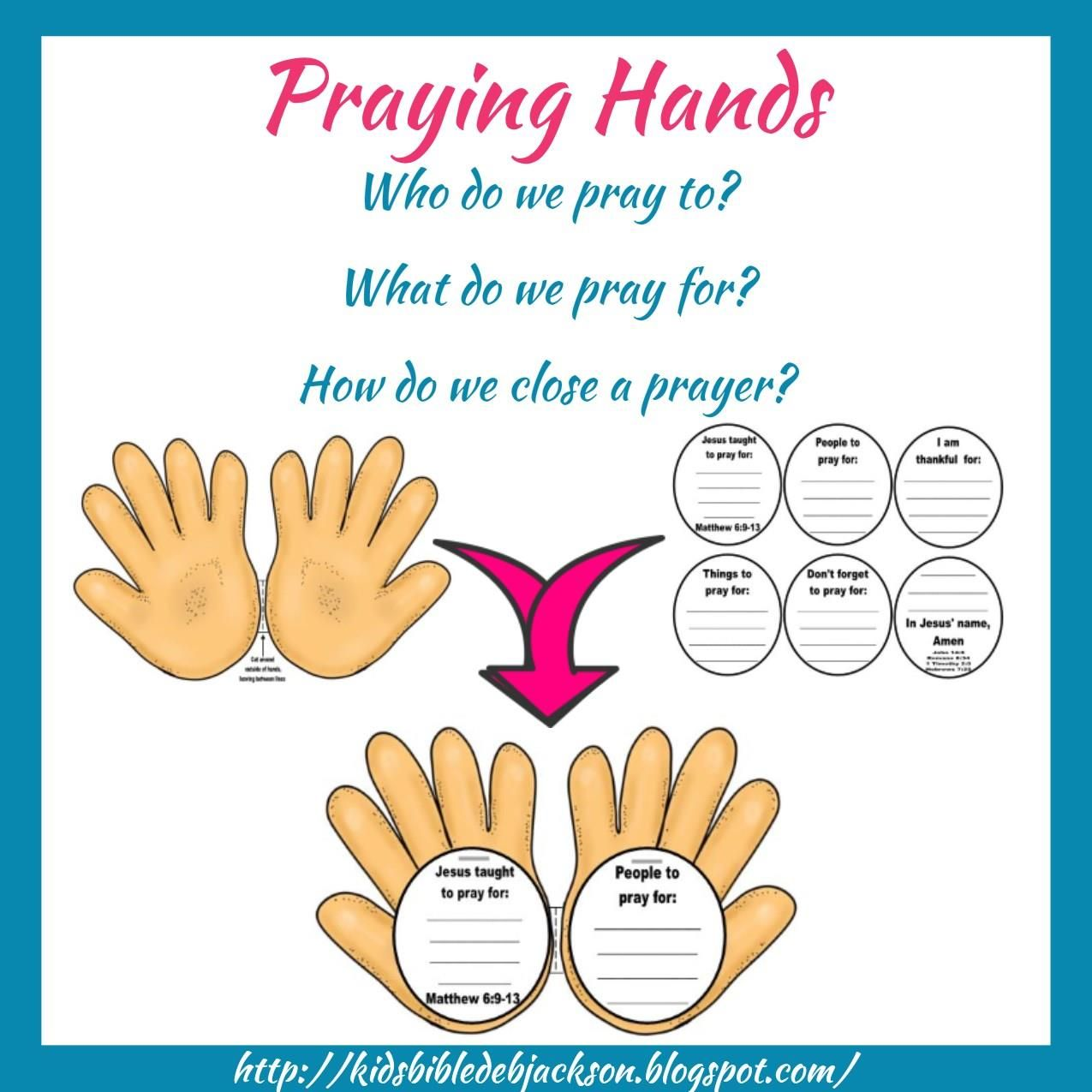 praying hands discussion starter on how who what etc for prayer