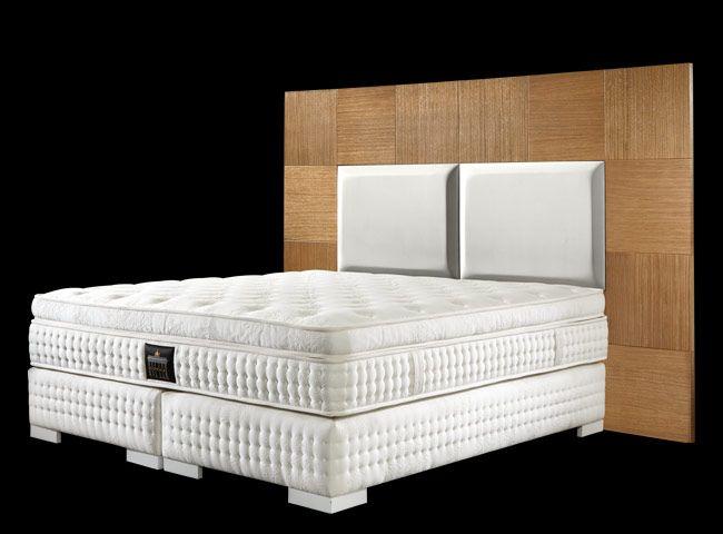 boxspringbett mit kopfteil natxo boxspringbetten bett kopfteile und hotelbett. Black Bedroom Furniture Sets. Home Design Ideas