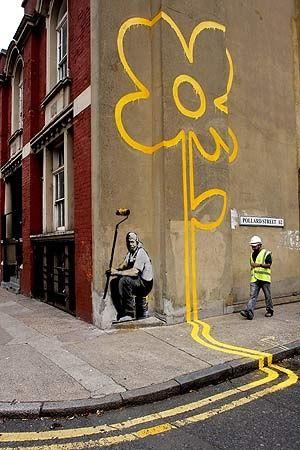 Bansky Street Art Street Art Street Art Banksy Banksy Art