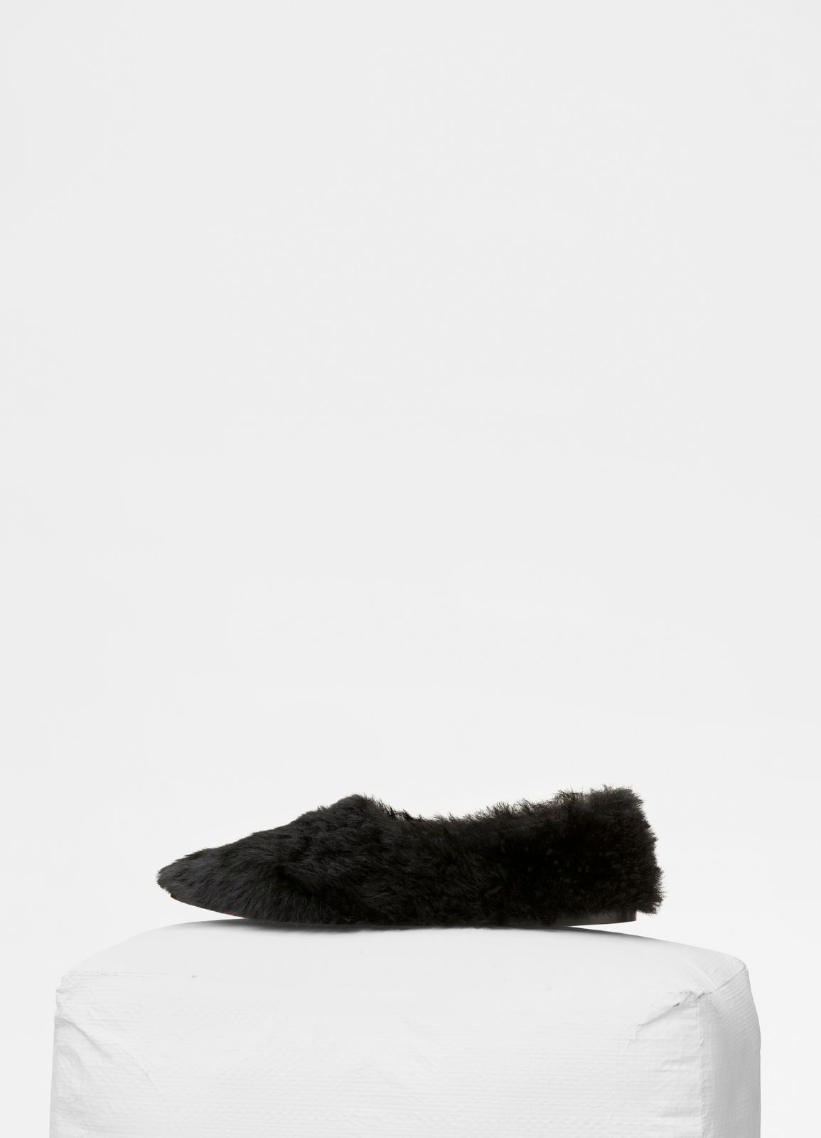 d5ea1348b4416 Cosy Slipper Flat in shearling