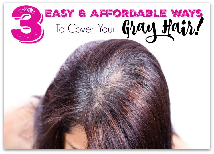 3 Easy & Affordable Ways to Cover Your Gray Hair, by Barbie\'s Beauty ...