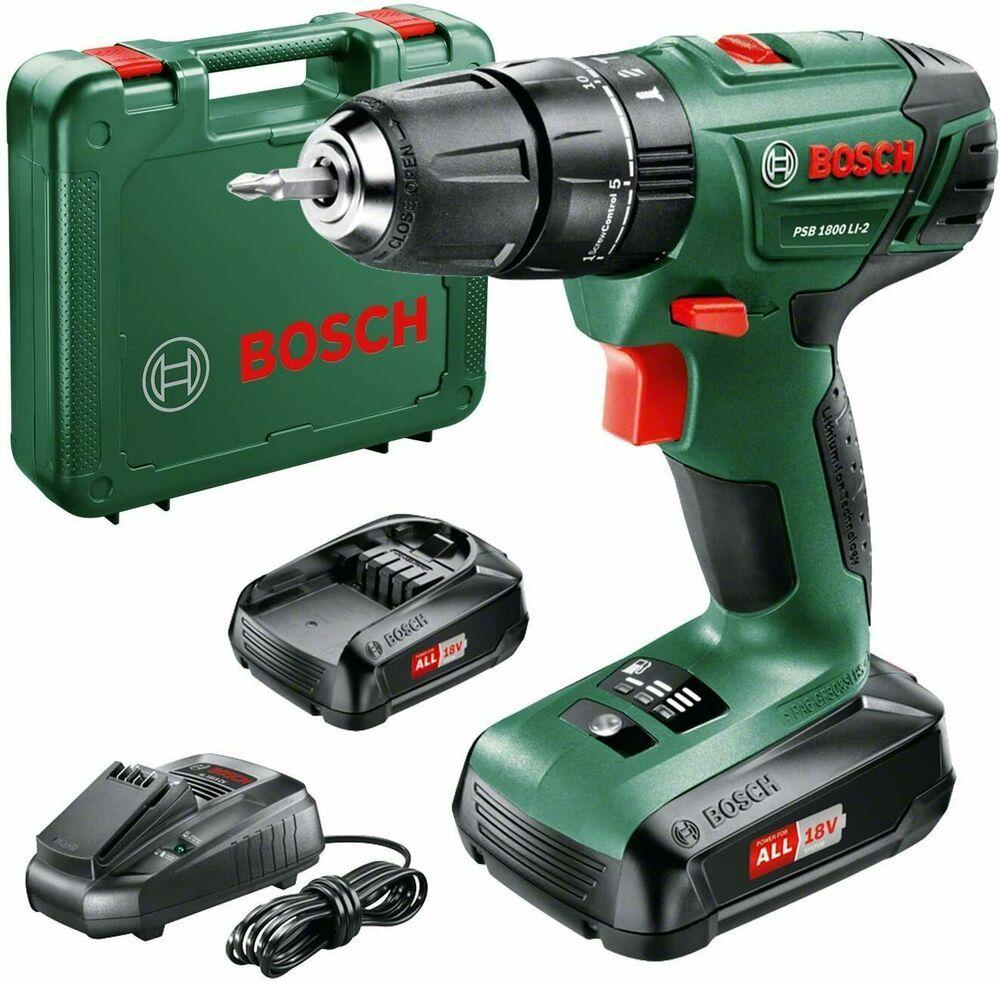 Pin By Eurobrand Rs On Bosch 06039a3371 Psb 1800 Li 2 Cordless Com Drill In 2020 Drill Diy Tools Bosch
