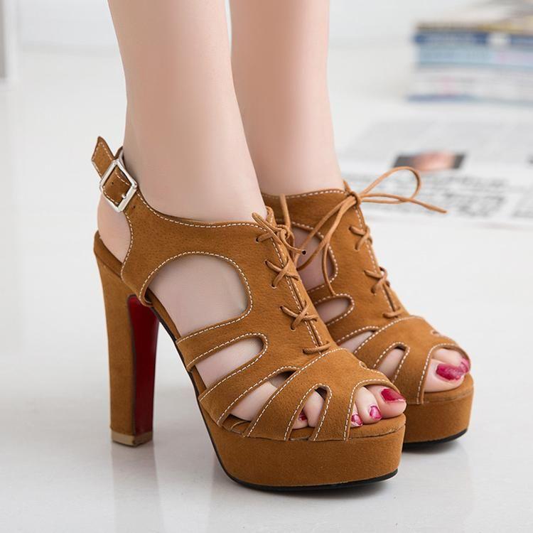 c541bf8fcd6 Women s Sandals Gladiator High Heel Sandals High Heel Shoes - Wedding Party  Shoes-shoes-Vinny s Digital Emporium