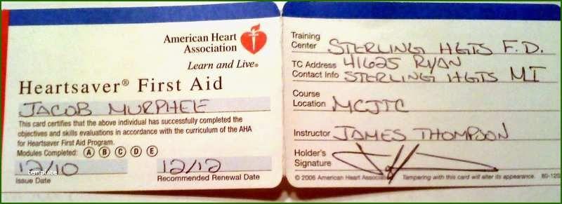18 Astonishing American Heart Association Cpr Card Template In 2020 Cpr Card Business Template Card Template