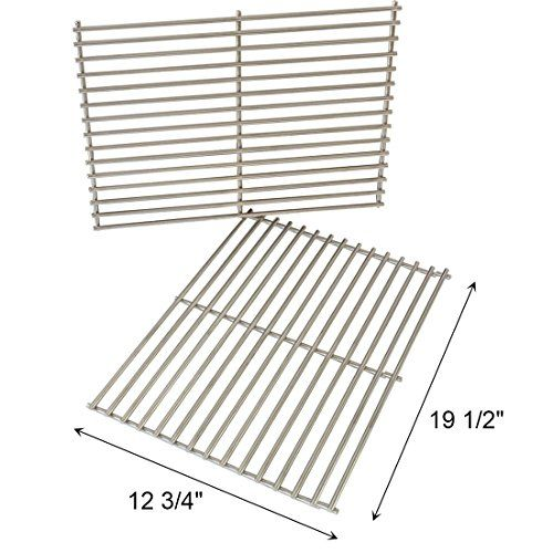 Onlyfire Replacement Bbq Stainless Steel Cooking Grill Rod Grid Grates For Weber 7528 Spirit And Genesis E And S Ser Cooking On The Grill Stone Bbq Coleman Bbq