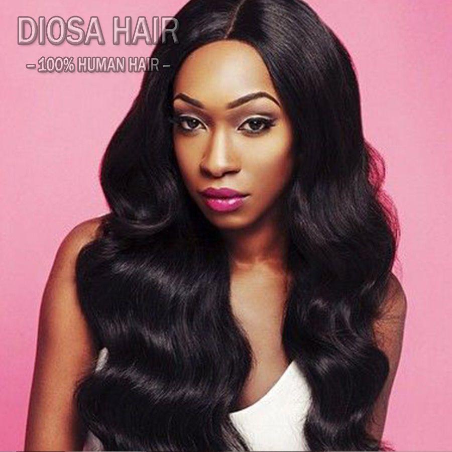 Full lace human hair wigs wavy density brazilian vingin hair
