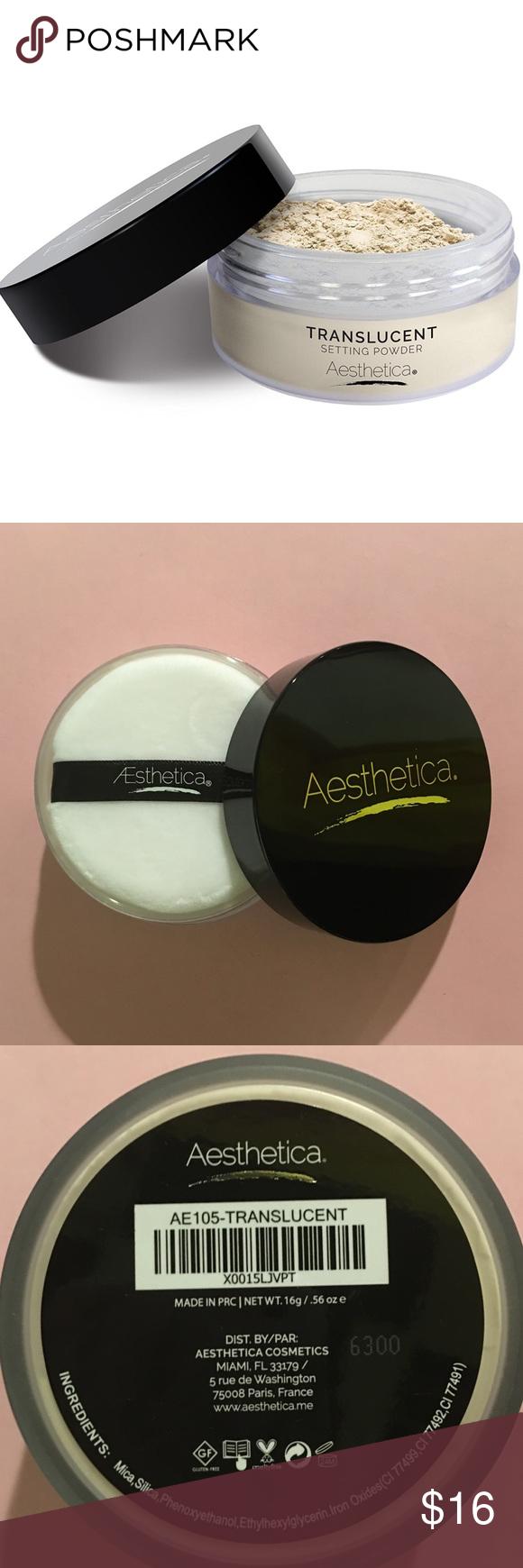 new talcfree luxury setting powder nwt Setting powder