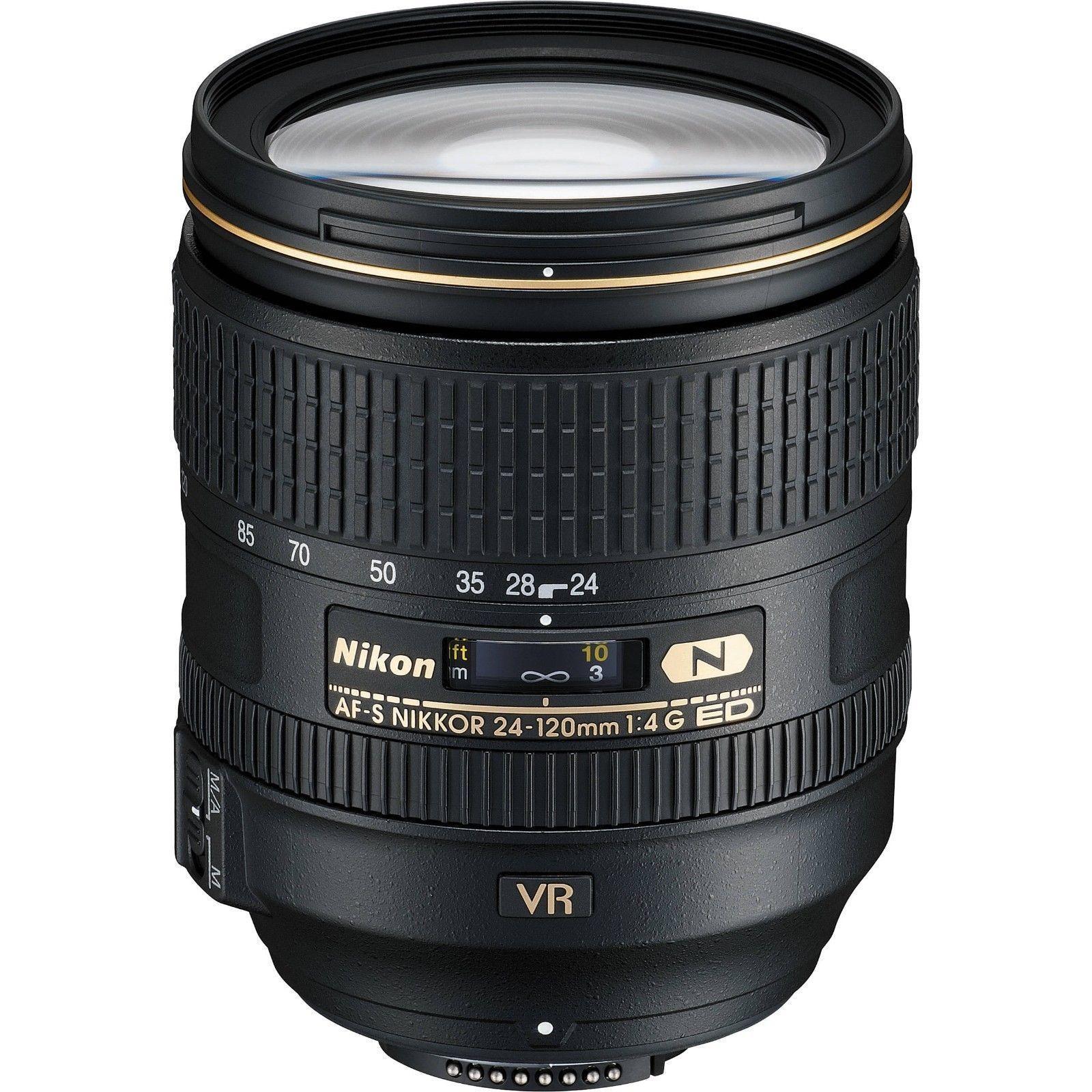 Nikon 24 120mm F 4g Ed Vr Af S Nikkor Lens For Nikon Dslr Brand New Product Description The Af S Nikkor 24 120mm F 4g Ed Vr Zo Nikon Lenses Vr Lens Nikon Dslr