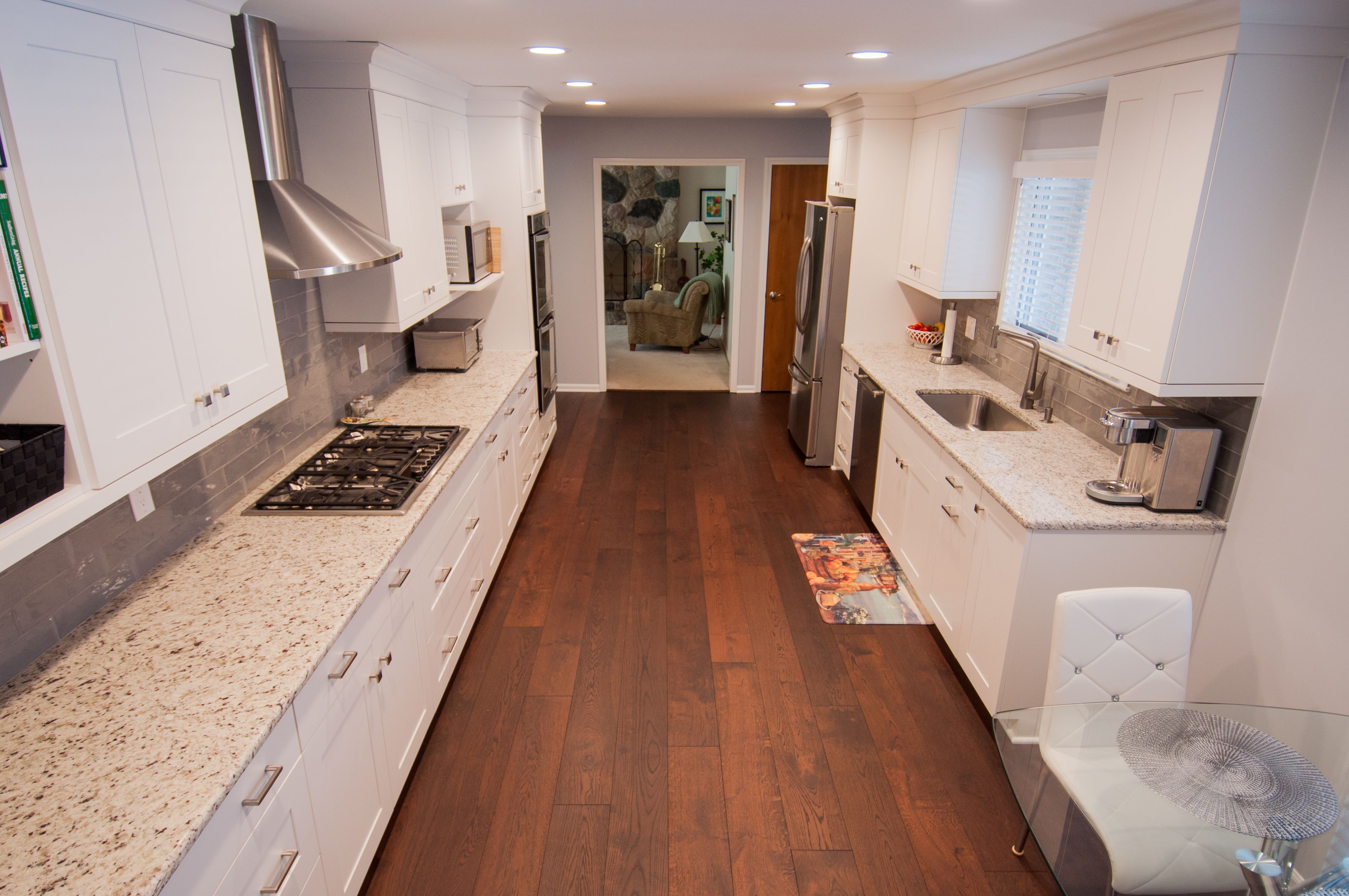 Bird\'s eye view of a one-of-a-kind kitchen! | LaFata Custom Cabinets ...