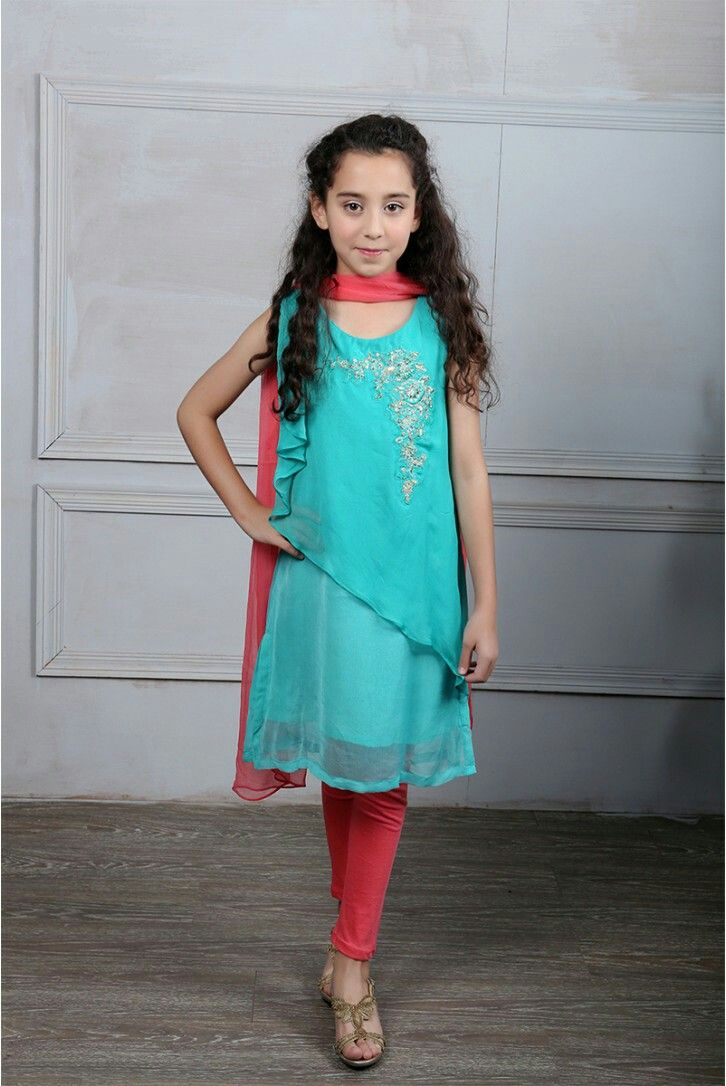 Pin by Aisha Baloch on Pakistani kids party wear | Pinterest ...