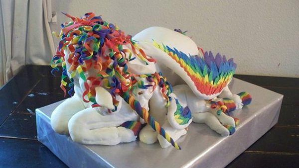 Realistic Pony Tier Cake