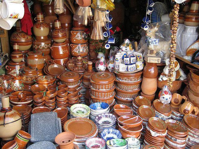 Tonala market guadalajara mexicans and culture for Artesanias de espana