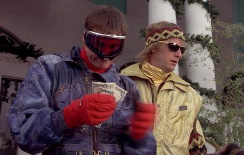 Lloyd Christmas Ski Dumb Dumber Winter Fashion Skiing