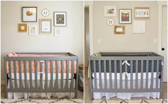 Russell & Camille: A Gender Neutral TWIN Nursery! | Nursery ideas ...