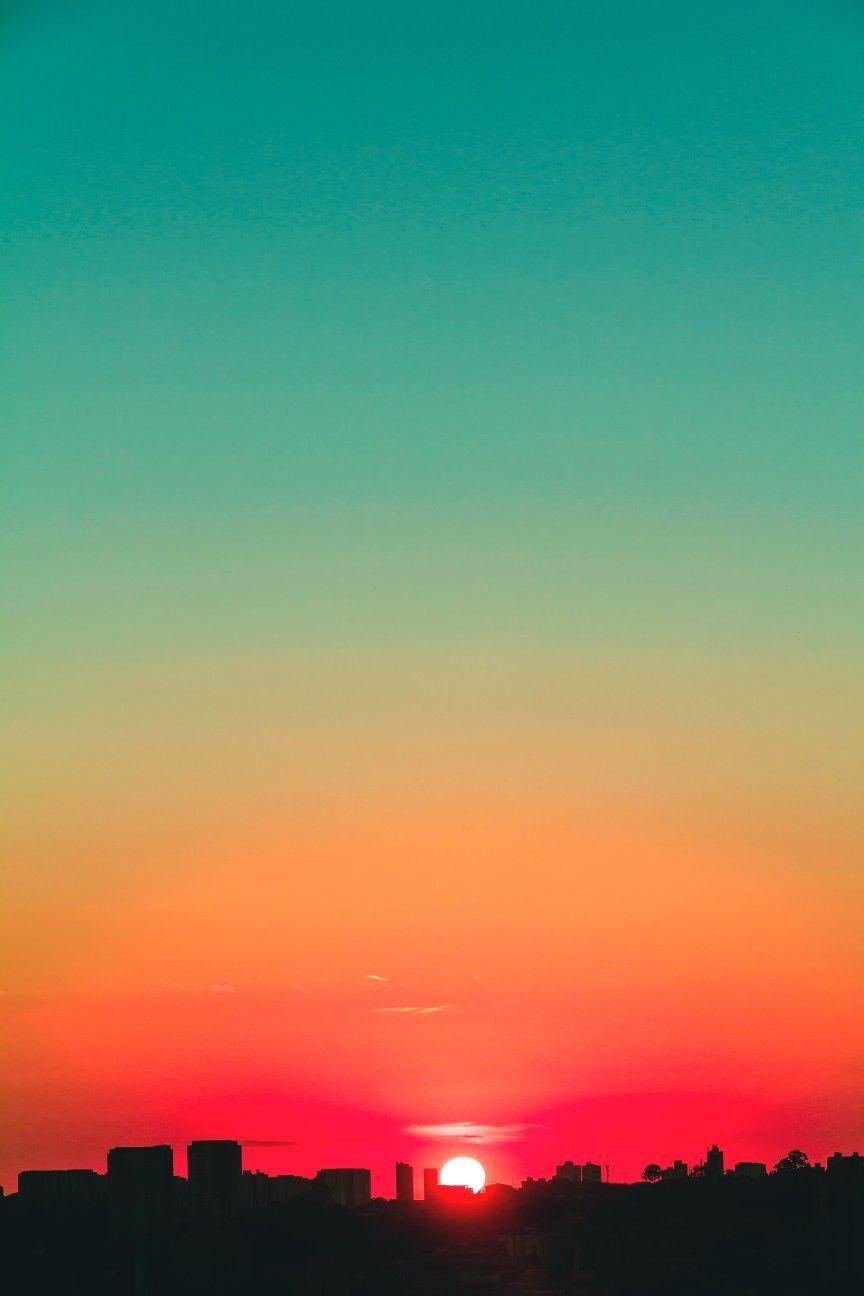 Sunset Wallpaper 4k In 2020 Sunset Wallpaper Sky Aesthetic Sunset Nature