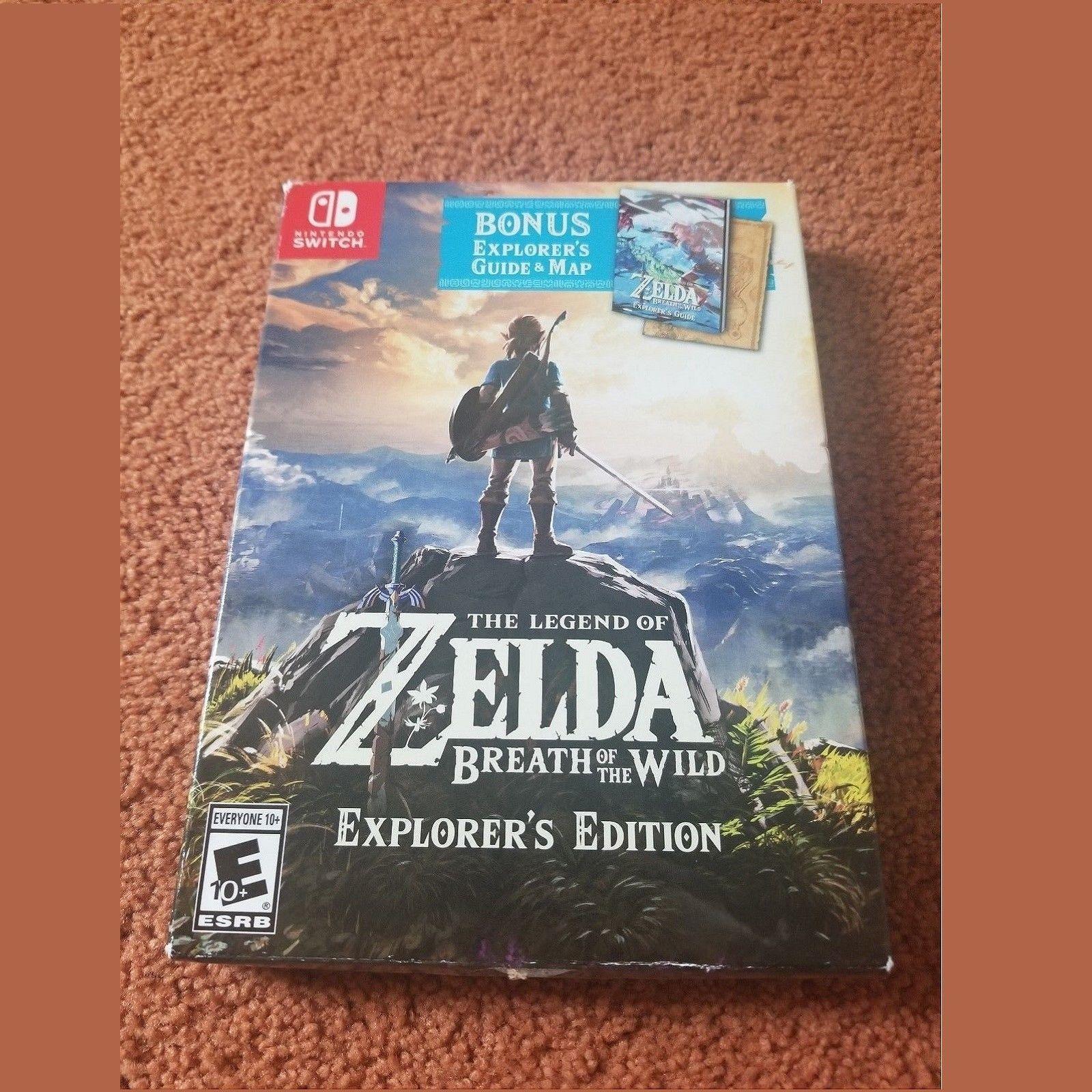 zelda explorers edition vs regular