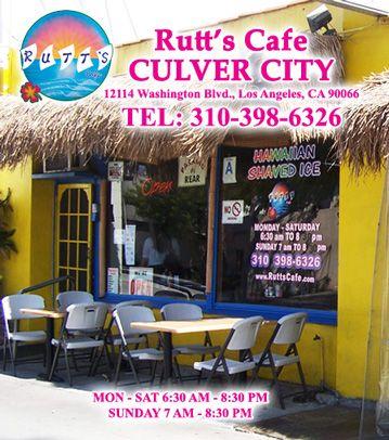 Welcome To Rutt S Cafe Hawaiian Restaurant Cafe Culver City