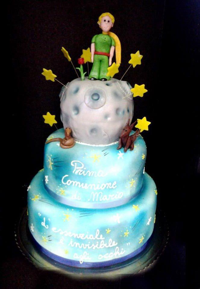 Il piccolo principe. torta della pasticceria La Mimosa di http://www.simocakedesigner.it