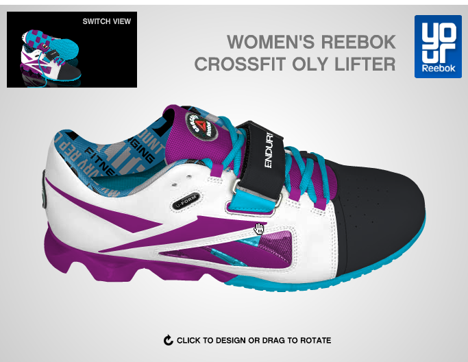Customize your Oly Lifting shoes from  Reebok!! Want these now please!!!  ) fd6f741e2d