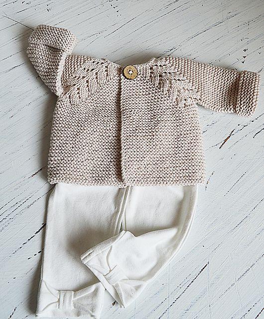 4ea1b37209f8 Norwegian Fir Top Down Cardigan pattern by OGE Knitwear Designs ...