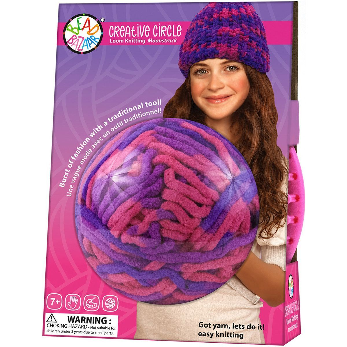 Creative Circle Loom Knitting Kit Moonstruck Products Pinterest